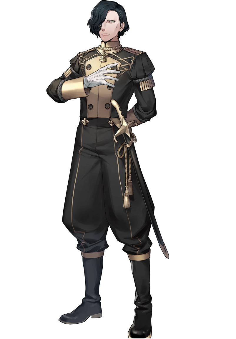 Hubert von Vestra Cosplay Costume from Fire Emblem: Three Houses