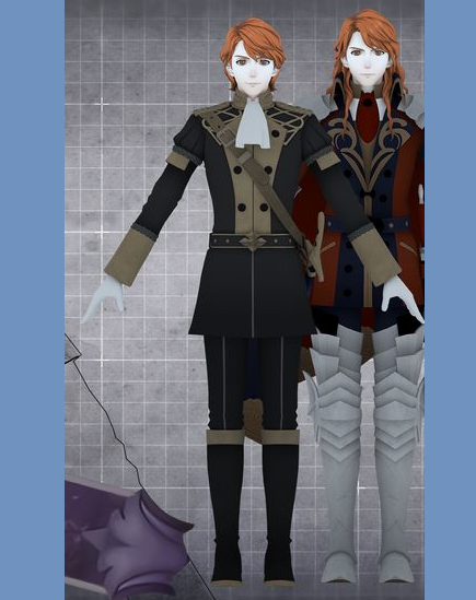 Ferdinand von Aegir Cosplay Costume from Fire Emblem: Three Houses