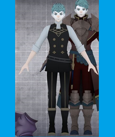 Caspar von Bergliez Cosplay Costume from Fire Emblem: Three Houses