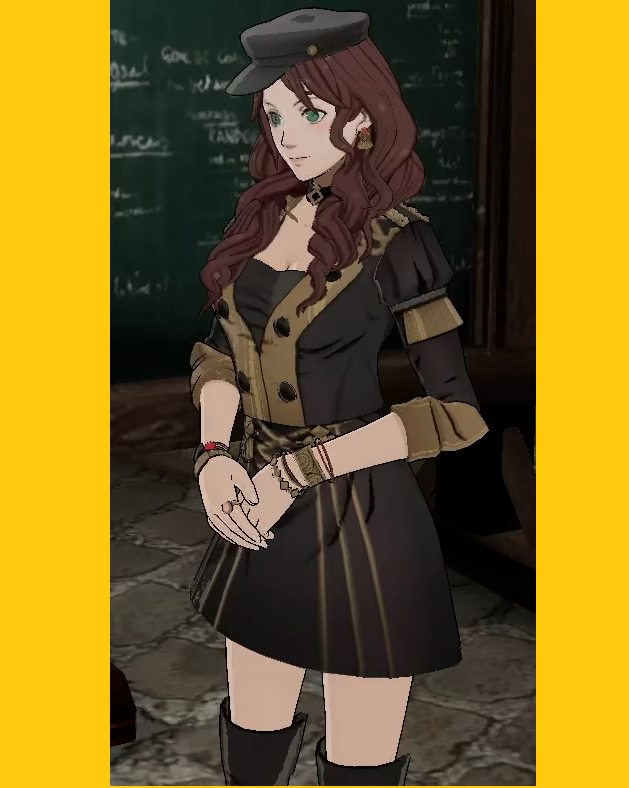 Dorothea Arnault Cosplay Costume from Fire Emblem: Three Houses