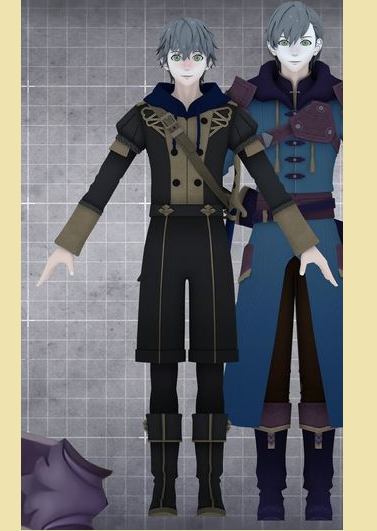 Ashe Ubert Cosplay Costume from Fire Emblem: Three Houses