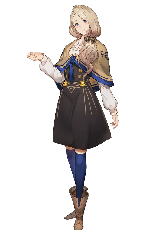 Mercedes von Martritz Cosplay Costume from Fire Emblem: Three Houses