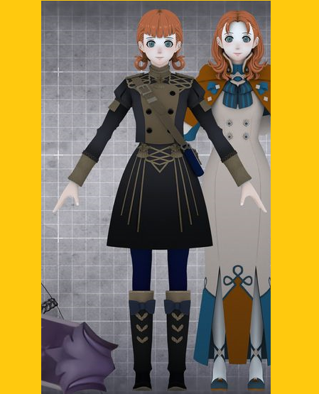 Annette Fantine Dominic Cosplay Costume from Fire Emblem: Three Houses