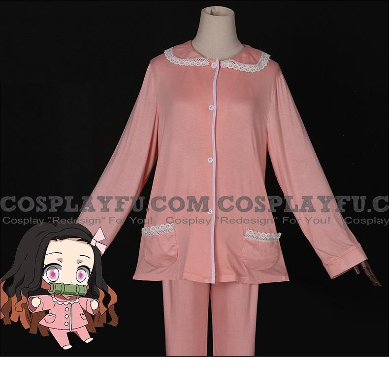 Kimetsu no Yaiba Nezuko Kamado Traje (Pajamas, 2nd)