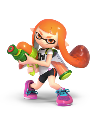 Splatoon Inklings chaussures