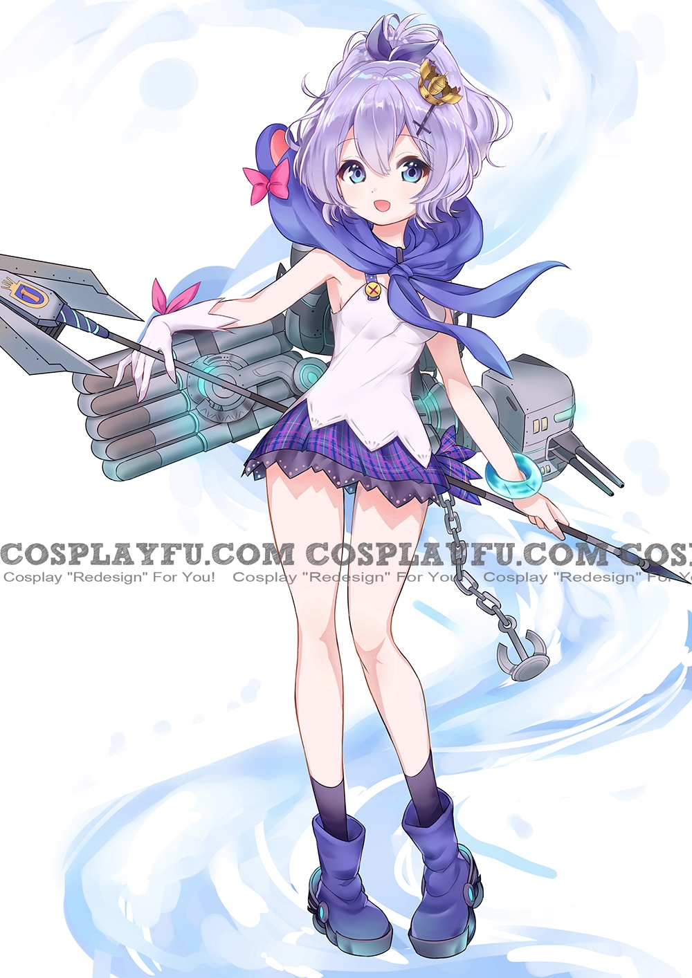 Azur Lane Javelin Costume