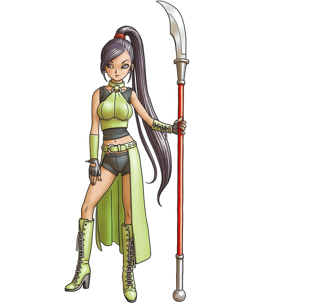 Martina Cosplay Costume from Dragon Quest