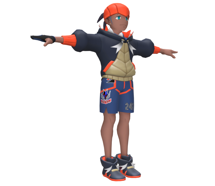 Raihan Cosplay Costume from Pokemon Sword and Shield