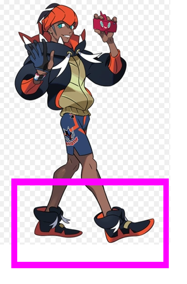 Raihan Shoes from Pokemon Sword and Shield