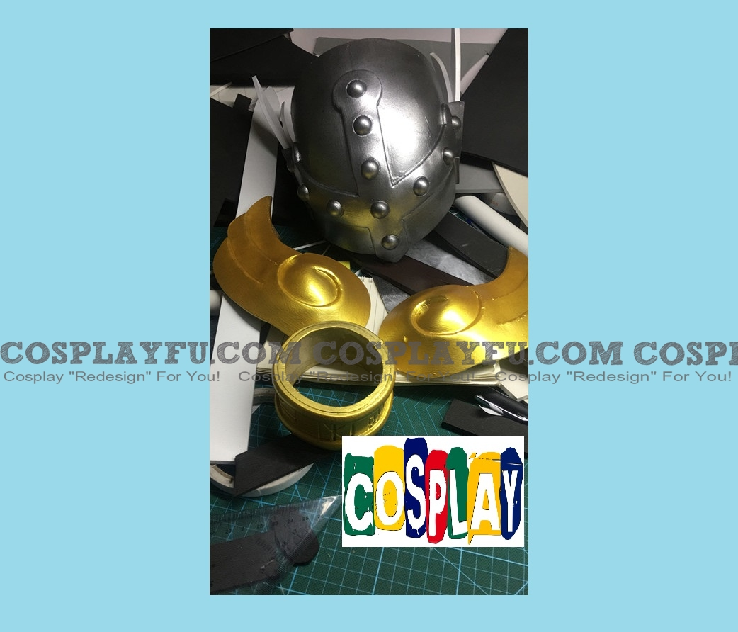 Angewomon Cosplay Costume Helmet from Digimon Adventure
