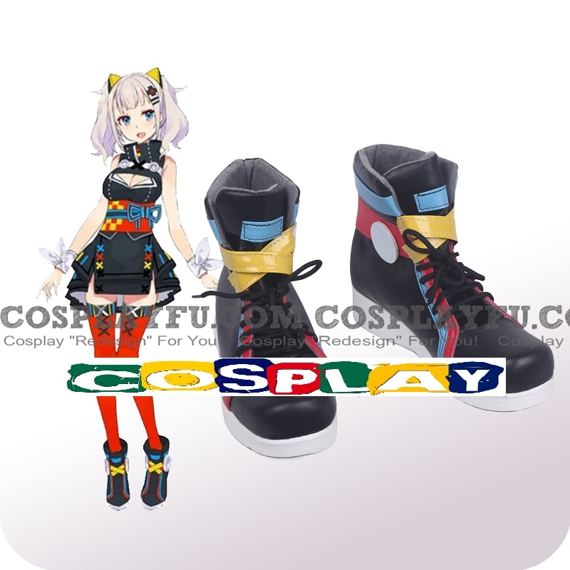 Kaguya Luna Shoes from Virtual Youtuber