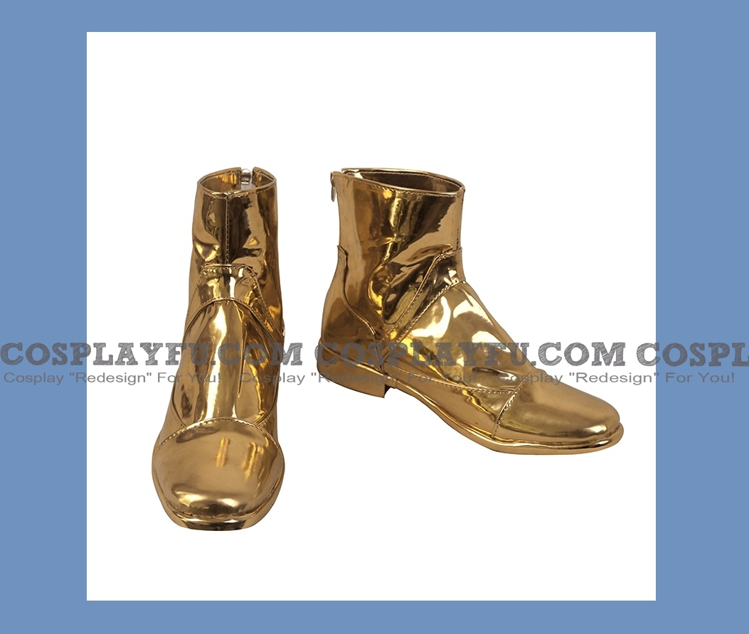 Aiolia Shoes from Saint Seiya