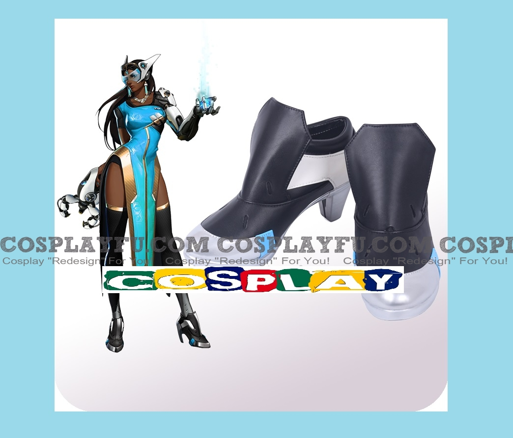 Symmetra Shoes from Overwatch