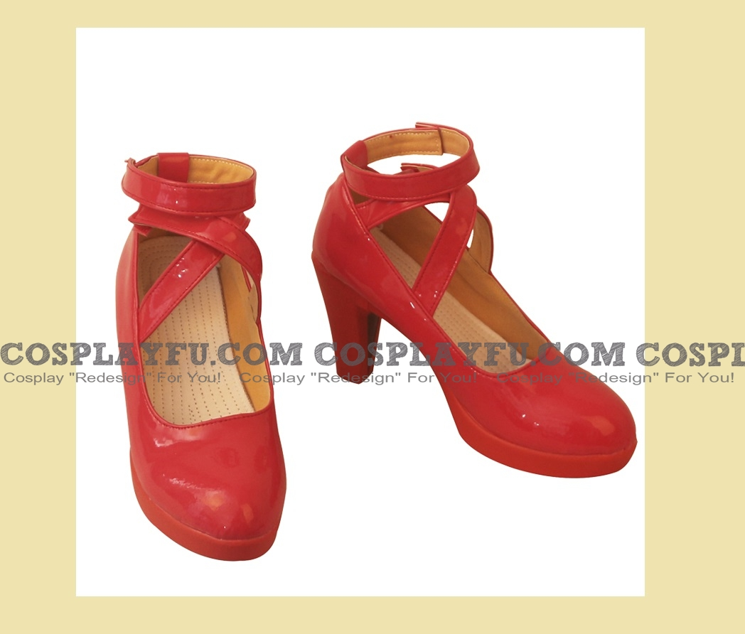Mordred Shoes (Red, high heels) from Fate Grand Order