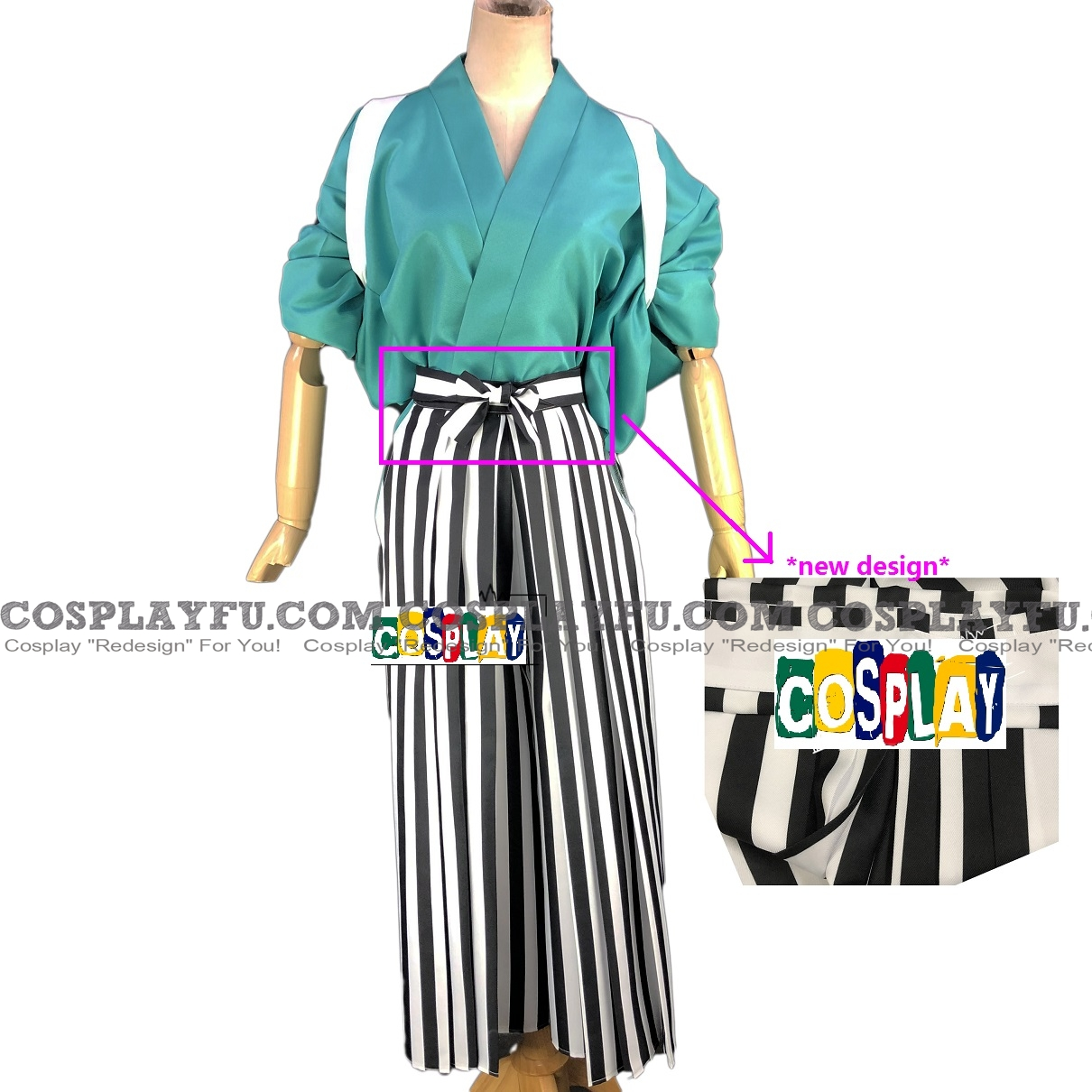 Usopp Cosplay Costume (Kendo) from One Piece