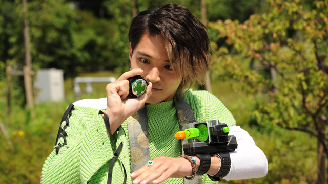 Alain Cosplay Costume (Casual) from Kamen Rider Ghost