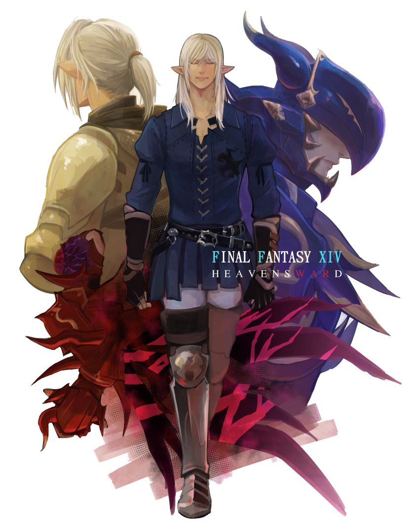 Estinien Cosplay Costume from Final Fantasy XIV