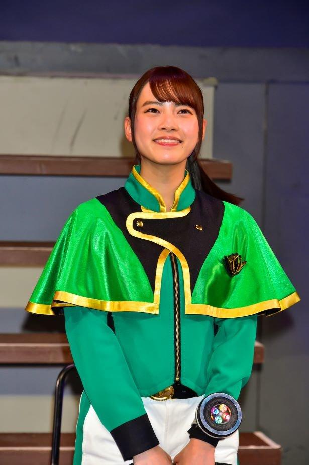 Kirama Green Cosplay Costume from Mashin Sentai Kirameiger