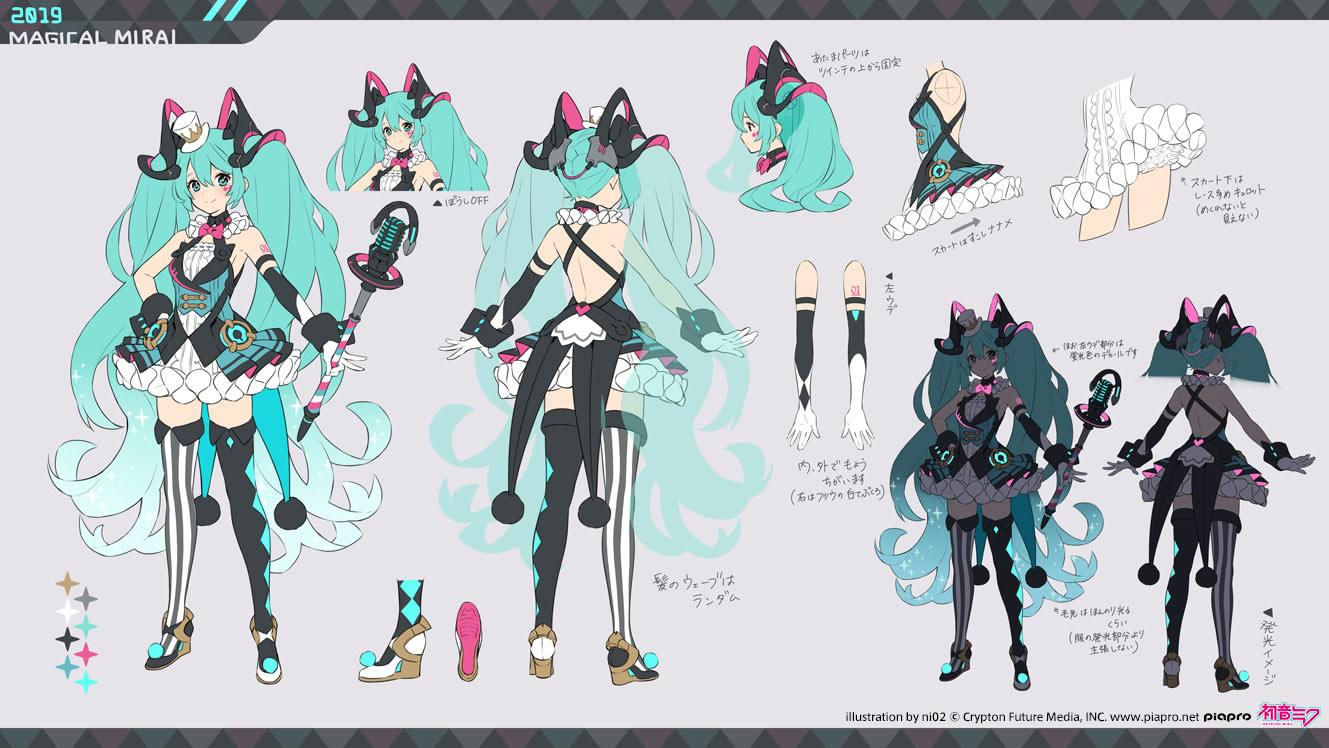 Miku Cosplay Costume (Magical Mirai 2019) from Vocaloid