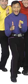 Jeff Pants from The Wiggles