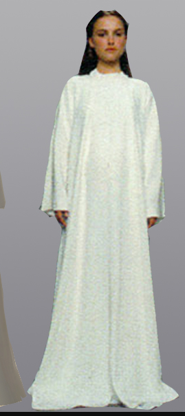 Padme Cosplay Costume (Hospital Gown) from Star Wars