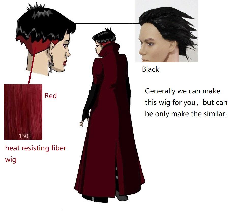 Scarlet Wig from X-Men Evolution