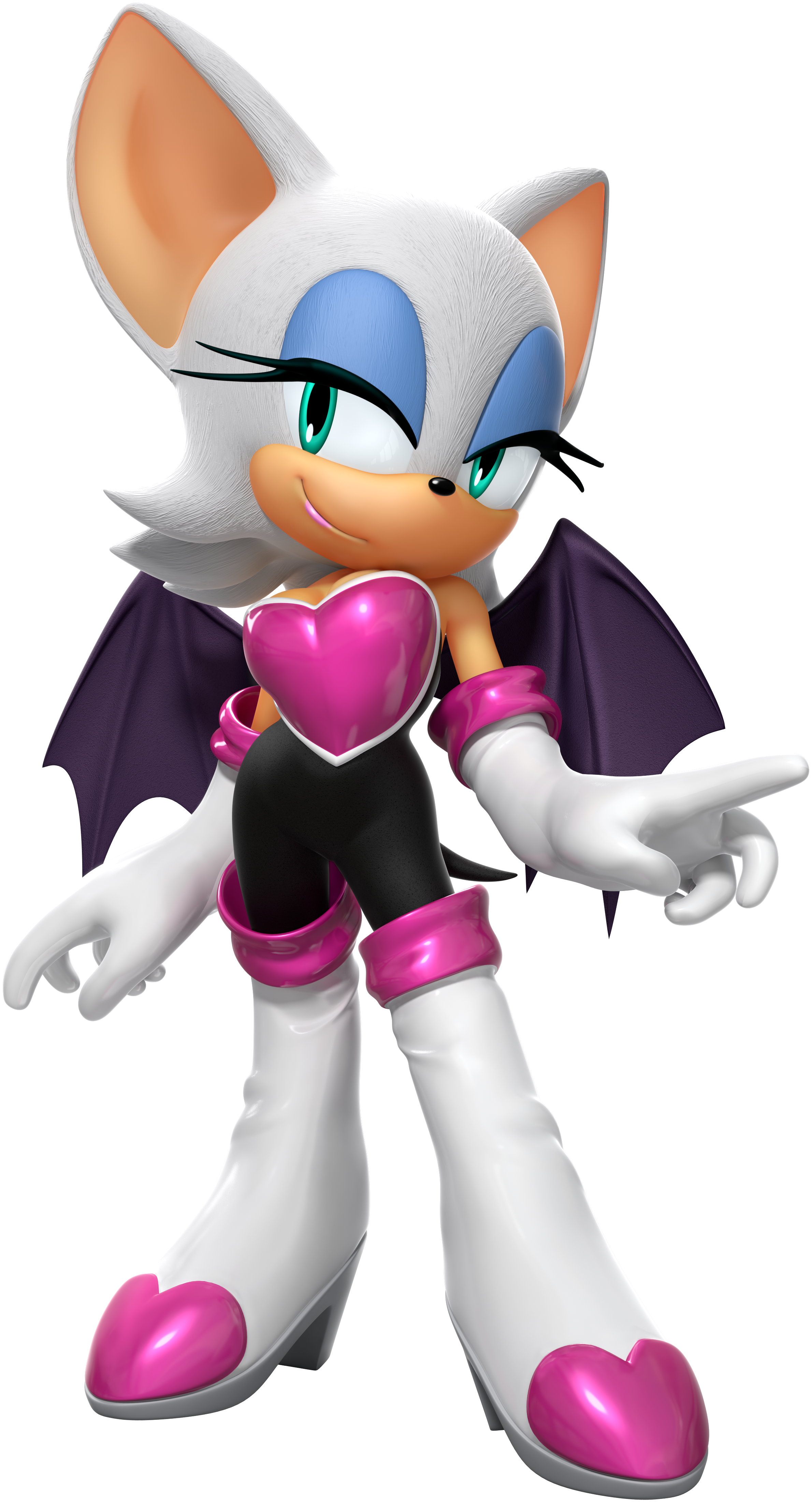 Rouge Cosplay Costume from Sonic The Hedgehog