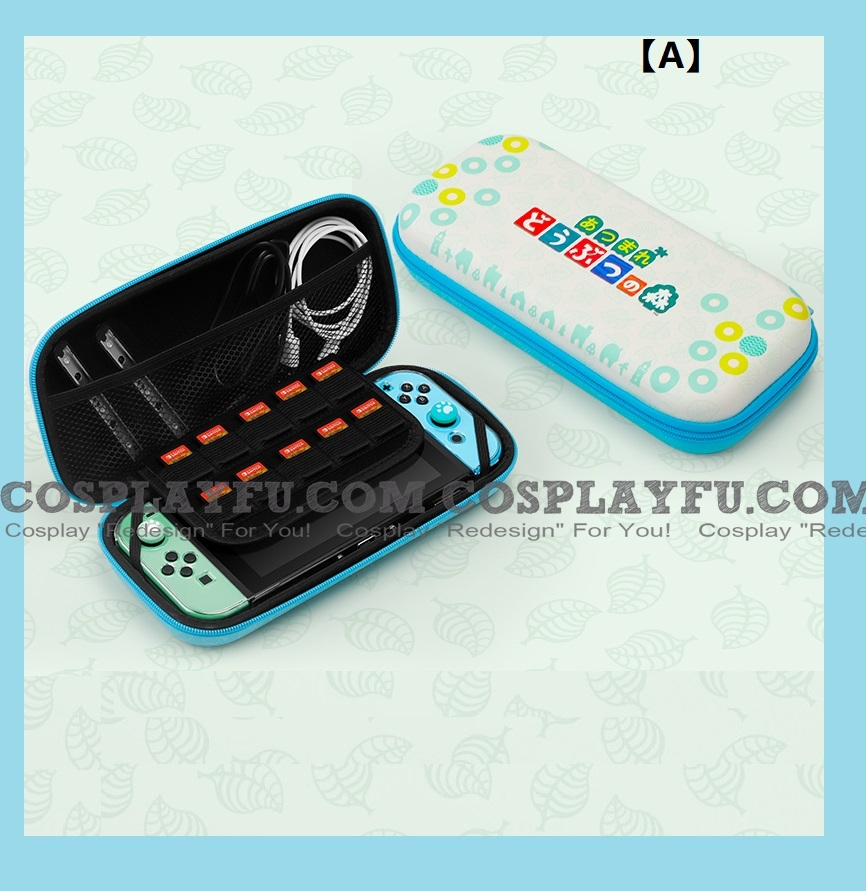 Animal Crossing Switch Carrying Case-Game Cards Holding - Free 発送 コスプレ