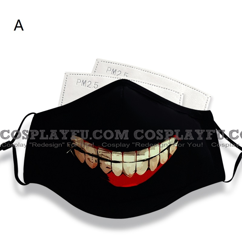 Face Masque for Adults (78965) Cosplay (Coton, Washable, Reusable)