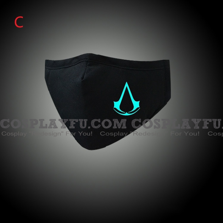 Assassin S Creed Face Mask For Adults Cotton Washable Reusable