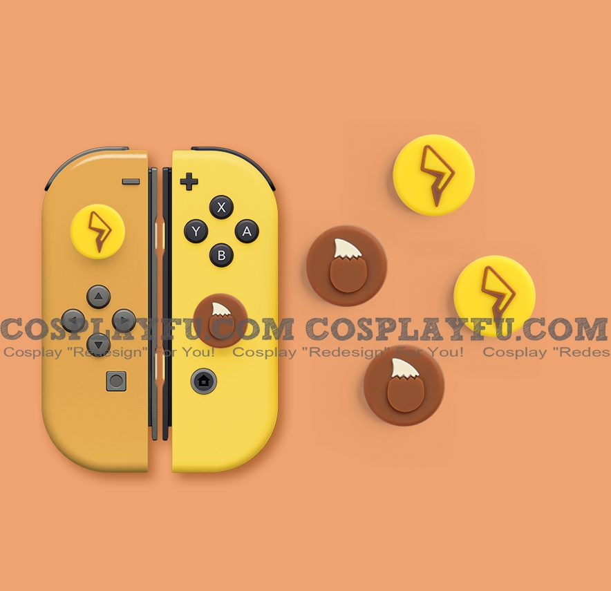 Nintendo Switch Paw Thumb Grips Caps Cover (Version J, For Switch Switch-Lite Joycon, Pack of 4)