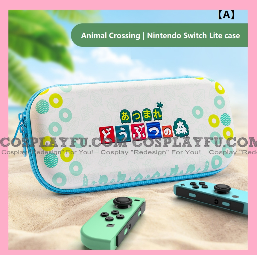 Animal Crossing Nintendo Switch Lite Carrying Case-Game Cards Holding Cosplay