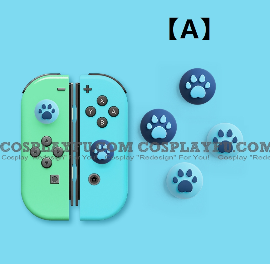 Nintendo Switch Paw Thumb Grips Caps Cover (For Switch Switch-Lite Joycon) (6169)