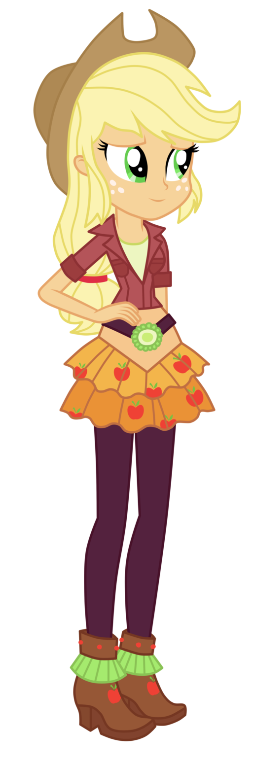 Applejack Cosplay Costume (2nd) from My Little Pony