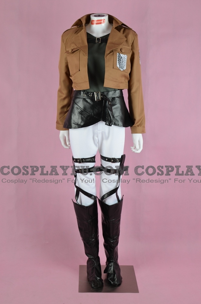 Reiner Cosplay Costume (Recon Corps) from Attack On Titan
