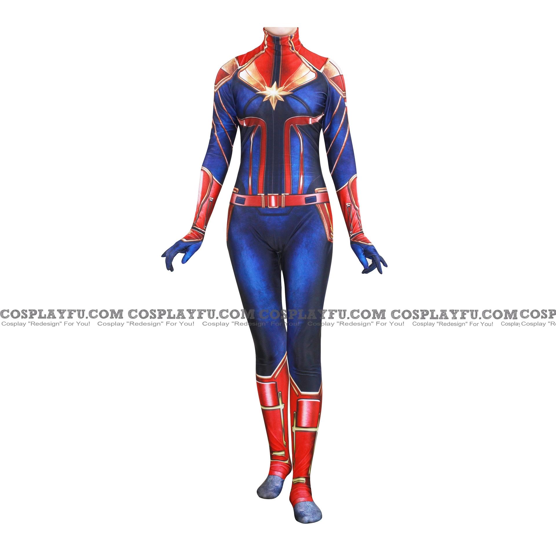 Captain America Ms. Marvel Costume (Infinity War)