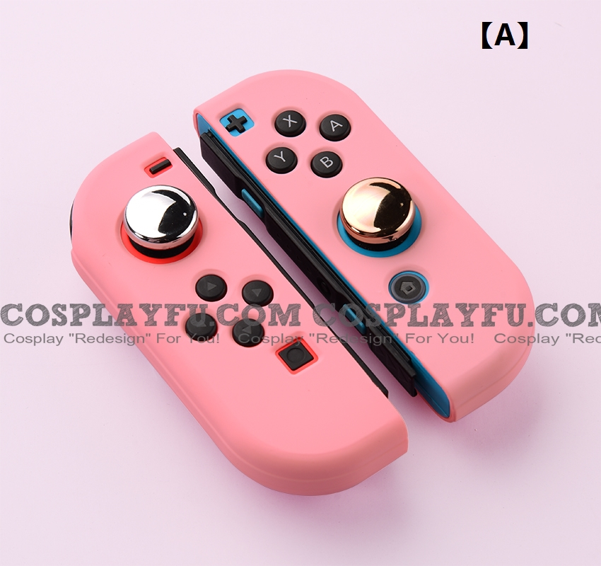 Pure Color Silicone Joy-Con Cover - Protective Case