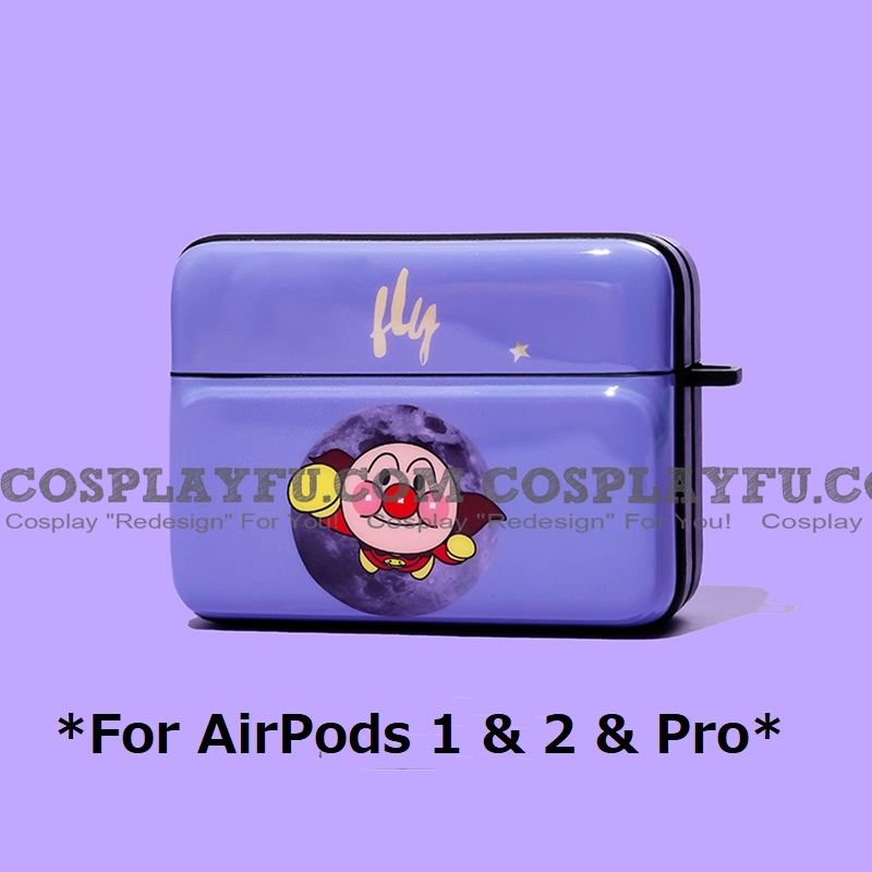 Cute Anpanman | Airpod Case | Silicone Case for Apple AirPods 1, 2, Pro
