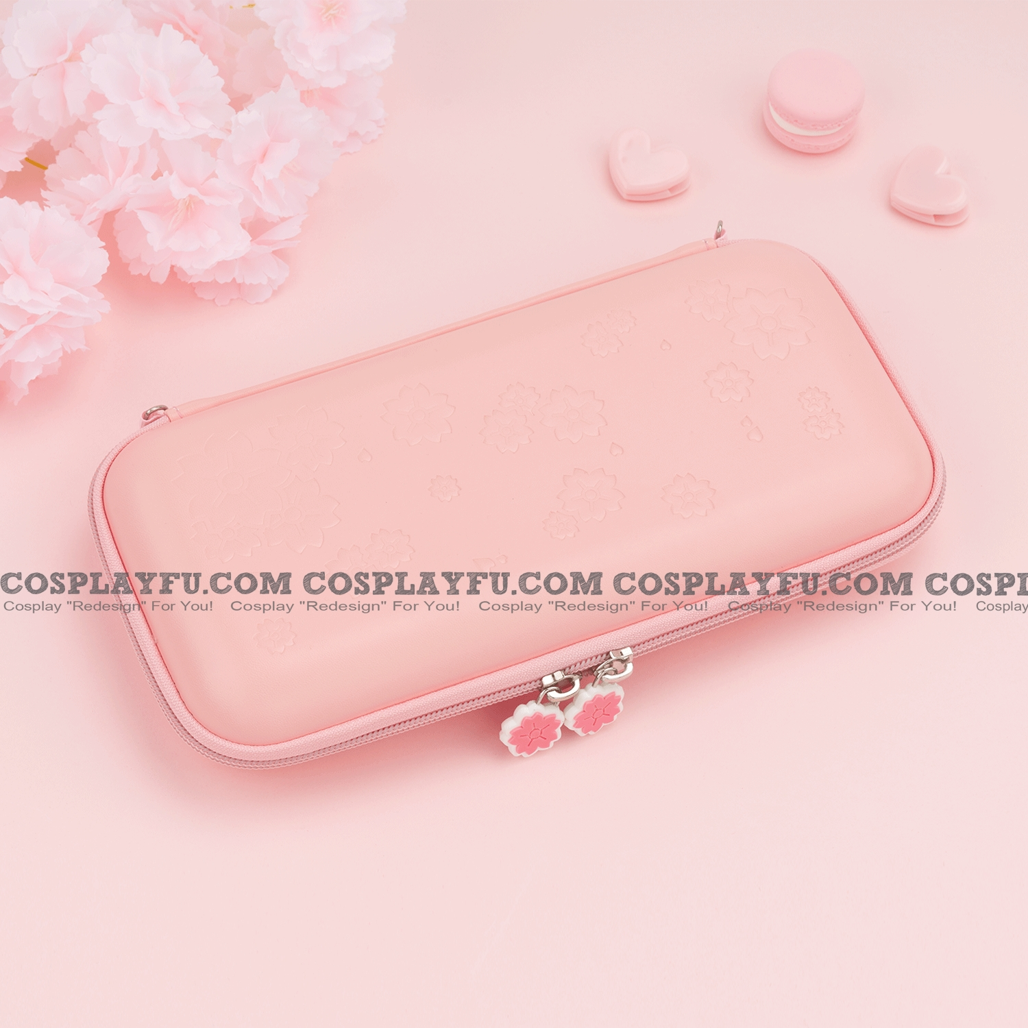 Sakura Nintendo Switch Lite Carrying Case 8 jeu Cards Holding Cosplay
