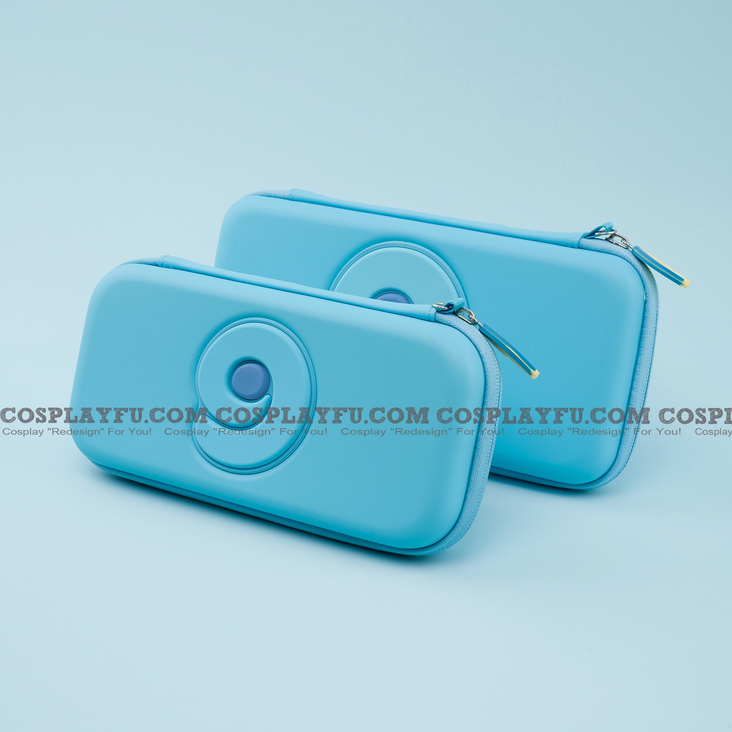 Doux bleu Nintendo Switch et Switch Lite Carrying Case 8~10 jeu Cards Holding Cosplay