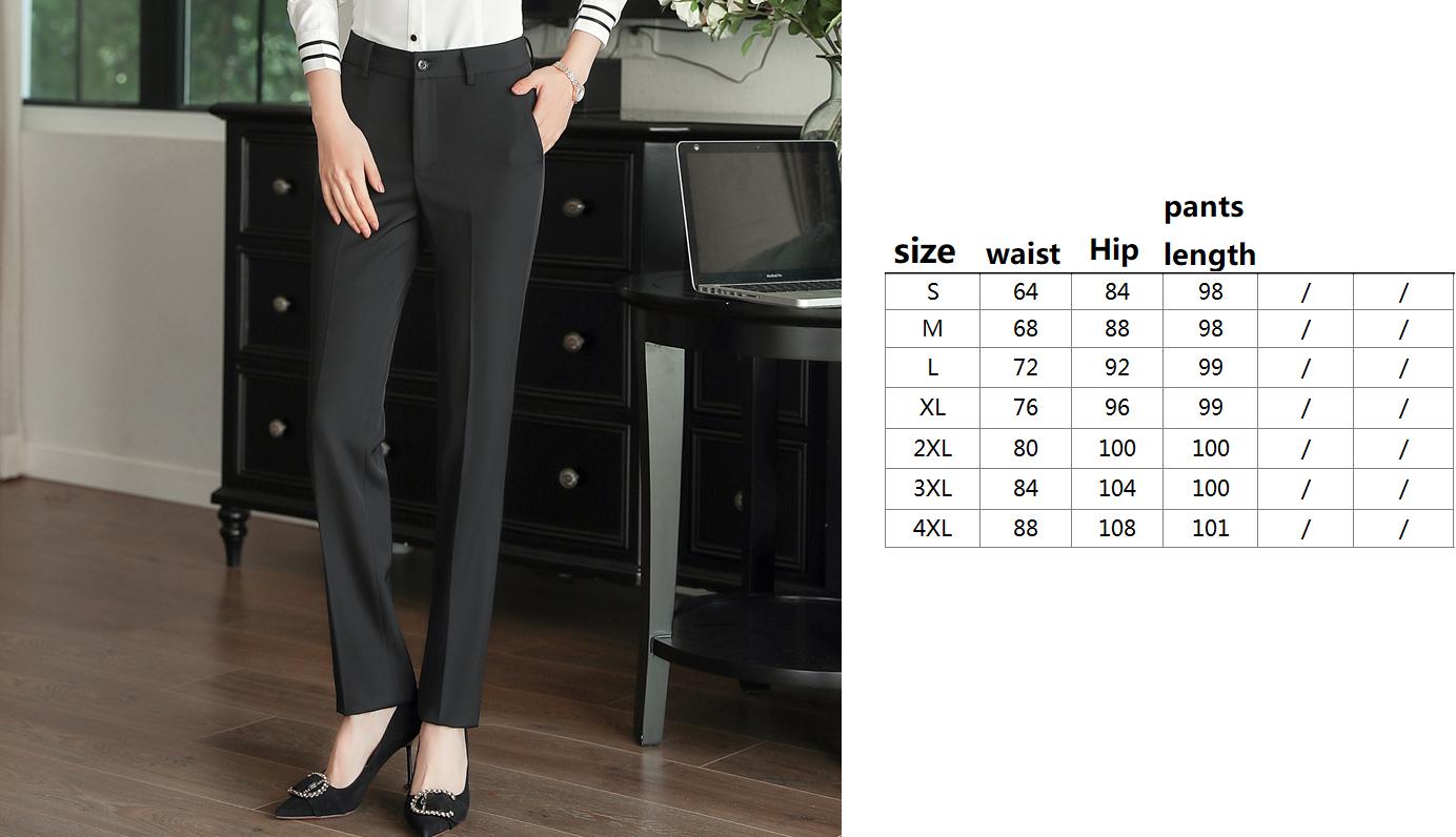 Black Polyester Pants
