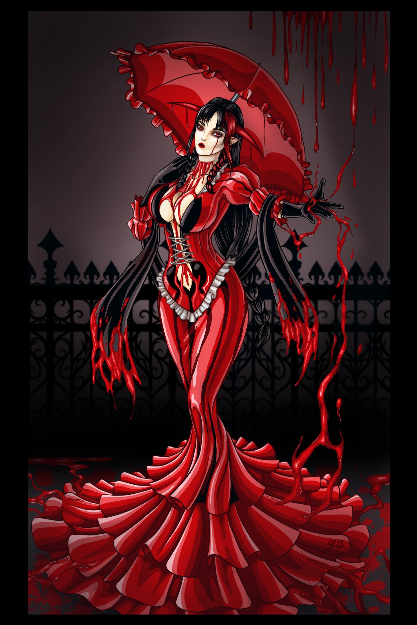 Bloodless Cosplay Costume from Bloodstained