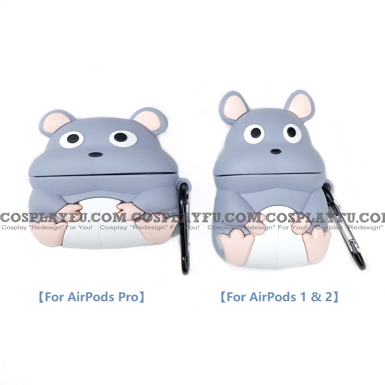 Boh Cute Mouse Airpod Case Silicone Case For Apple Airpods 1 2 Pro From Spirited Away Cosplayfu Ca