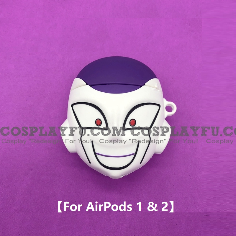 DBZ Frieza Cute Airpod Case Silicone Case for Apple AirPods 1, 2 from Dragon Ball