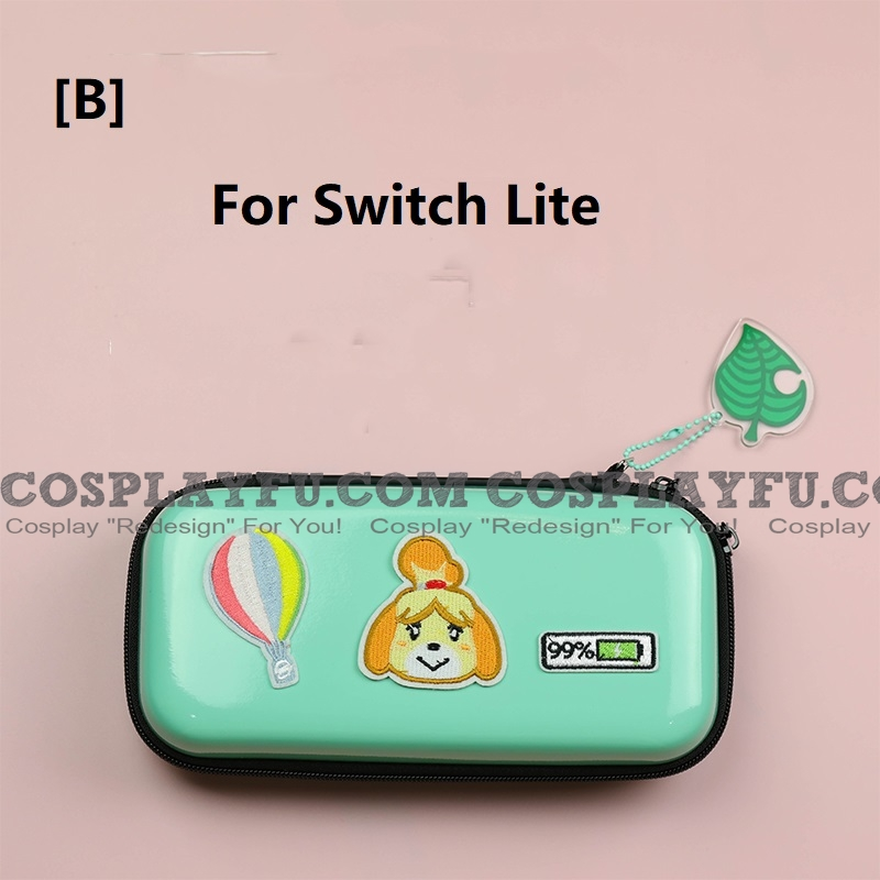 Animal Crossing Isabelle Green Color Nintendo Switch And Switch Lite Carrying Case 8 Game Cards Holding