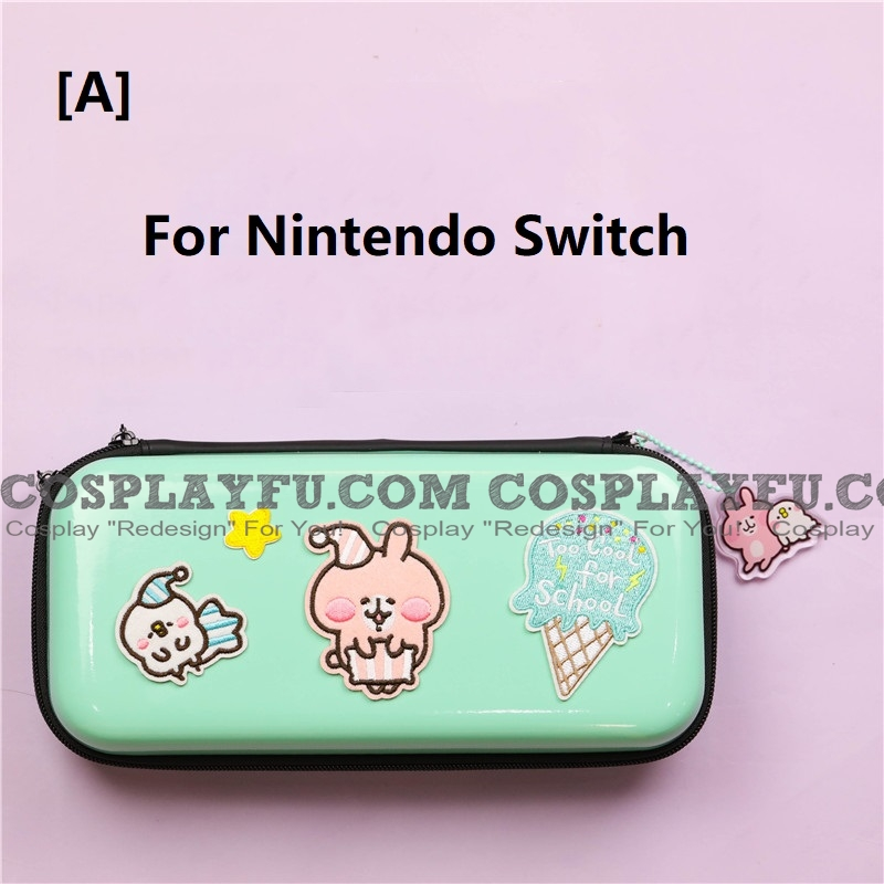 グリーン Kanahei Nintendo Switch と Switch Lite Carrying Case 8~10 ゲーム Cards Holding コスプレ