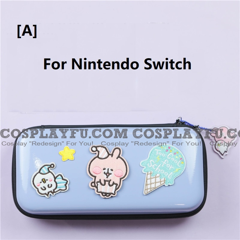 синий Kanahei Nintendo Switch а также Switch Lite Carrying Case 8~10 Game Cards Holding Косплей