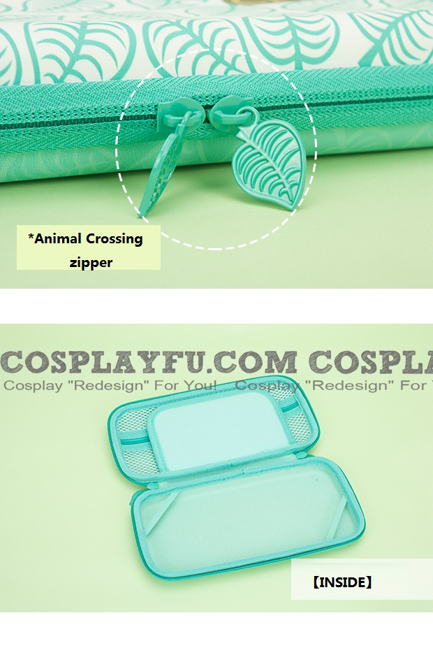 Animal Crossing Green Color Nintendo Switch Carrying Case 10