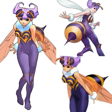 Q-Bee Cosplay Costume from Darkstalkers