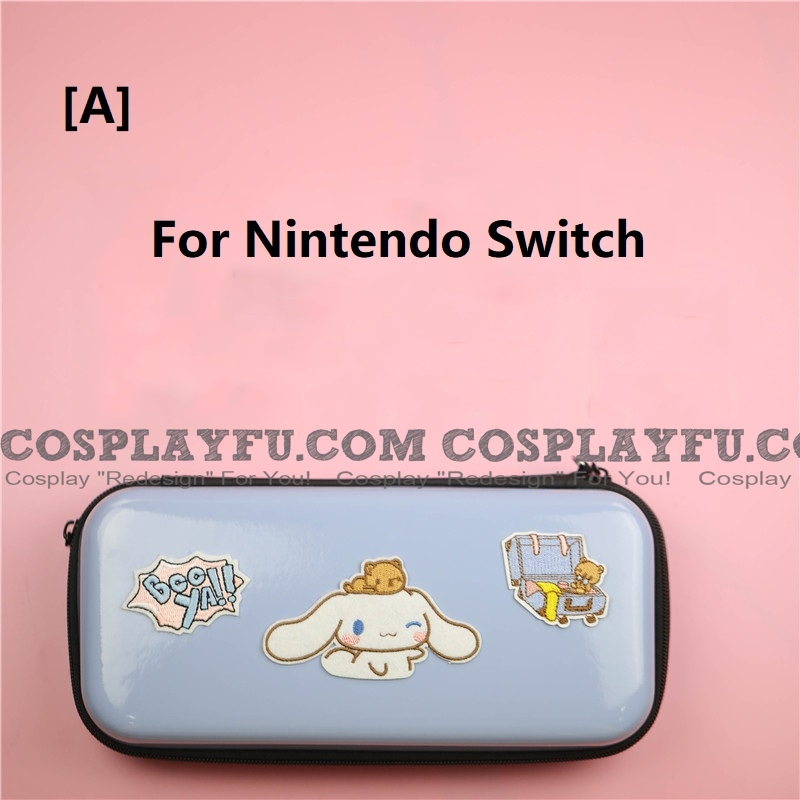 Blue Cinnamoroll Nintendo Switch and Switch Lite Carrying Case - 8 Game Cards Holding